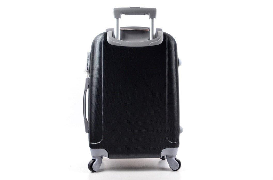c7eabd72e5439 Walizka ORMI czarna grafitowa MAŁA torba podróżna