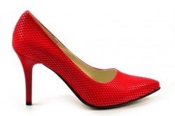 Czółenka 40 szpilki Victoria DEEX 419 czerwone