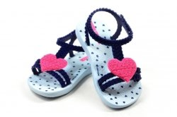 Sandałki 24 IPANEMA 81997 kids niebieskie różowe