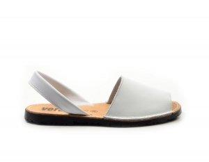 Sandały 35 skórzane VERANO 201 białe klapki