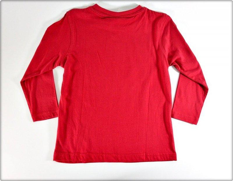 Blue Seven Bluzka 110 długi rękaw czerwona WYPRZEDAŻ