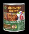 Drewnochron 2w1 Lakierobejca DĄB CIEMNY 0,8L drewna do