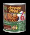 Drewnochron 2w1 Lakierobejca PALISANDER 2,5L drewna do