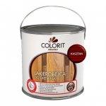 Colorit Lakierobejca Drewna 2,5L KASZTAN szybkoschnąca satynowa farba do