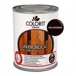 Colorit Lakierobejca Drewna 0,75L PALISANDER szybkoschnąca satynowa farba do