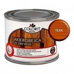 Colorit Lakierobejca Drewna 375ml TEAK TIK TEK szybkoschnąca satynowa farba do