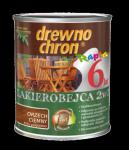 Drewnochron 2w1 Lakierobejca ORZECH CIEMNY 10L drewna do