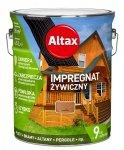 Altax Impregnat 4,5L KASZTAN Żywiczny Drewna Szybkoschnący