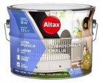 Altax Emalia Szybkoschnąca Biały PÓŁMAT 5L akrylowa wodna do drewna metalu