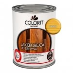 Colorit Lakierobejca Drewna 0,75L SOSNA szybkoschnąca satynowa farba do