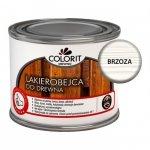 Colorit Lakierobejca Drewna 375ml BRZOZA BIAŁA szybkoschnąca satynowa farba do