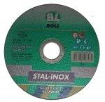 BOLL Tarcza cięcia STAL-INOX 41-125x1,0mm A60TBF