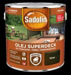 Sadolin Superdeck olej 5L WENGE 90 tarasów drewna do