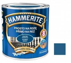 Hammerite Na Rdzę 0,7L NIEBIESKI POŁYSK hamerite farba