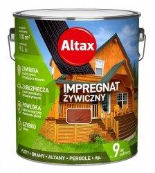 Altax Impregnat 9L MAHOŃ Żywiczny Drewna Szybkoschnący