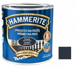 Hammerite Na Rdzę 0,7L GRAFITOWY POŁYSK hamerite farba