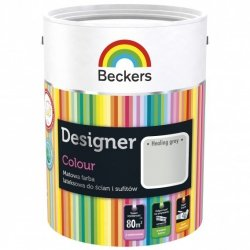Beckers 2,5L HEALING GREY Designer Colour farba lateksowa
