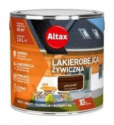 Altax Lakierobejca 2,5L PALISANDER Żywiczna Drewna Szybkoschnąca