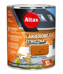 Altax Lakierobejca 0,75L TIK Żywiczna Drewna Szybkoschnąca