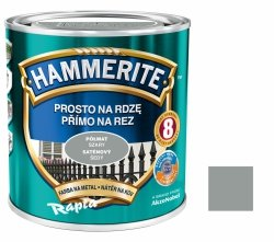Hammerite Na Rdzę 0,7L SZARY PÓŁMAT hamerite farba