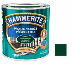 Hammerite Na Rdzę 2,5L CIEMNOZIELONY PÓŁMAT hamerite farba