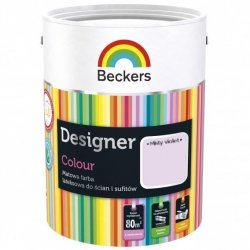 Beckers 2,5L MISTY VIOLET Designer Colour farba lateksowa