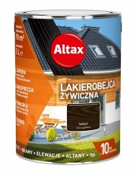 Altax Lakierobejca 10L HEBAN Żywiczna Drewna Szybkoschnąca