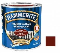 Hammerite Na Rdzę 0,7L CZERWONY TLENKOWY POŁYSK hamerite farba