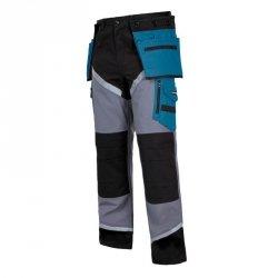 LAHTI PRO Spodnie robocze do pasa ochronne L odblaski