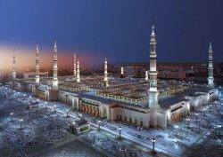 Fototapeta 388x270 8-107 Zabytki Architektura Budowla Miasto Medyna Meczet Proroka Islam Religia Arabia