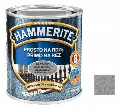 Hammerite Na Rdzę 2,5L SREBRNO-SZARY MŁOTKOWY hamerite farba