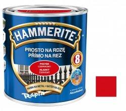 Hammerite Na Rdzę 0,7L CZERWONY POŁYSK hamerite farba