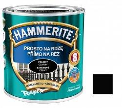 Hammerite Na Rdzę 0,25L CZARNY PÓŁMAT hamerite farba czarna