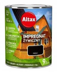 Altax Impregnat 0,75L HEBAN Żywiczny Drewna Szybkoschnący