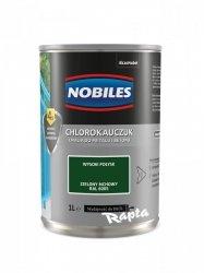 Chlorokauczuk 1L ZIELONY MCHOWY RAL 6005 Nobiles farba emalia