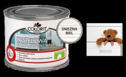 Colorit Pastelowa Drewna 375ml ŚNIEŻNA BIEL akrylowa emalia do farba