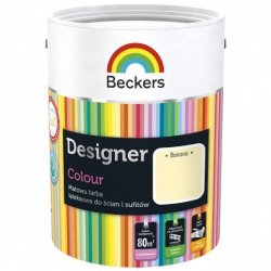 Beckers 5L BANANA Designer Colour farba lateksowa