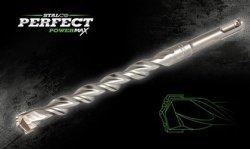 Wiertło 8x260 do betonu SDS PLUS + STALCO PERFECT POWERMAX