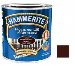 Hammerite Na Rdzę 2,5L CIEMNOBRĄZOWY POŁYSK hamerite farba