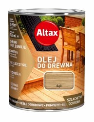 Altax olej do drewna 0,75L DĄB tarasów