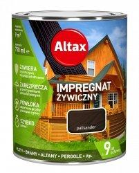 Altax Impregnat 0,75L PALISANDER Żywiczny Drewna Szybkoschnący