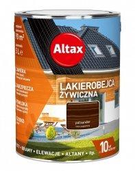 Altax Lakierobejca 10L PALISANDER Żywiczna Drewna Szybkoschnąca
