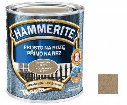 Hammerite Na Rdzę 2,5L ZŁOTY MŁOTKOWY hamerite farba
