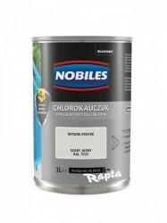 Chlorokauczuk 1L SZARY JASNY RAL 7035 Nobiles farba emalia