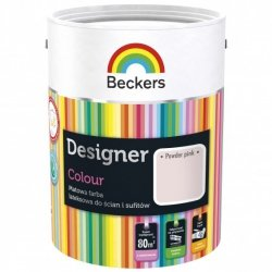 Beckers 5L POWDER PINK Designer Colour farba lateksowa