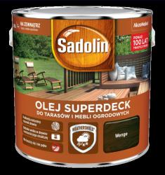 Sadolin Superdeck olej 2,5L WENGE 90 tarasów drewna do