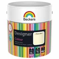 Beckers 5L PANNA COTTA Designer Colour farba lateksowa