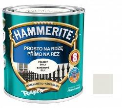 Hammerite Na Rdzę 0,7L BIAŁY PÓŁMAT hamerite farba biała