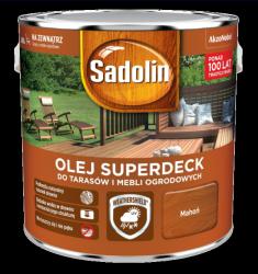 Sadolin Superdeck olej 10L MAHOŃ 75 tarasów drewna do