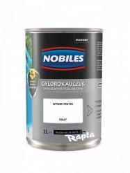 Chlorokauczuk 1L BIAŁY Nobiles farba emalia biała